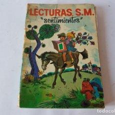 Libros de segunda mano: LECTURAS, S.M. SENTIMIENTOS, 1969. Lote 198763725
