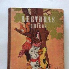 Libros de segunda mano: LECTURAS DE CHICOS - LECTURAS GRADUADAS - EDIT. HIJOS DE SANTIAGO RODRIGUEZ BURGOS - 4ª EDICIÓN 1960. Lote 198778190