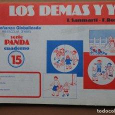 Libros de segunda mano: LOS DEMÁS Y YO Nº15 VICENS 1984. Lote 198902162
