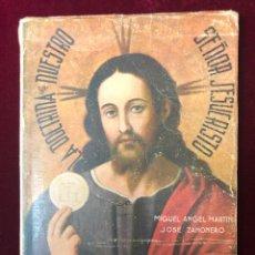 Libros de segunda mano: ELEMENTOS DE RELIGIÓN, MIGUEL MARTIN PENALBA Y JOSÉ ZAHONERO VIVO, VALENCIA 1944. Lote 198991546