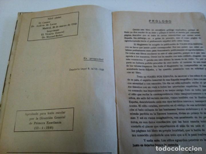 Libros de segunda mano: * VIAJES POR ESPAñA. 1958.FEDERICO TORRES. ( Rf : LL-8/*) - Foto 2 - 199137687