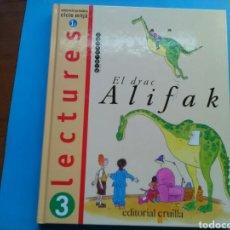 Libros de segunda mano: LECTURES 3R DE BÀSICA EL DRAC ALIFAK. ED.CUÏLLA. Lote 199285821