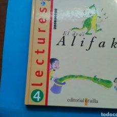 Libros de segunda mano: LECTURES 4TVDE BÀSICA EL DRAC ALIFAK ED. CRUÏLLA. Lote 199286533