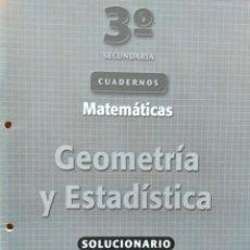 Libros de segunda mano: 3º DE SECUNDARIA: CUADERNOS DE MATEMÁTICAS. OXFORD EDUCACIÓN. Lote 192744728