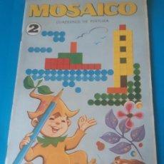 Livros em segunda mão: MOSAICO. CUADERNOS DE PINTURA 2 EDITORIAL ROMA , BARCELONA. Lote 199389396