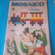Livros em segunda mão: MOSAICO. CUADERNOS DE PINTURA 3 EDITORIAL ROMA , BARCELONA. Lote 199389715