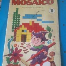 Livros em segunda mão: MOSAICO. CUADERNOS DE PINTURA 1 EDITORIAL ROMA , BARCELONA. Lote 199390095
