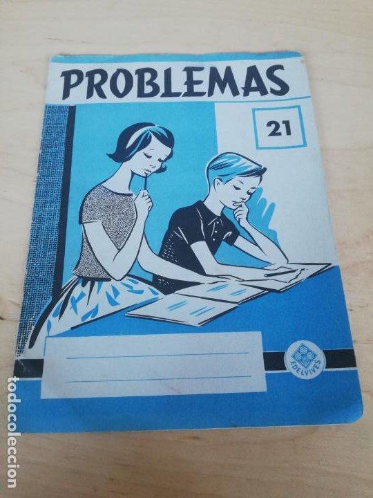 CUADERNO PROBLEMAS N. 21. EDELVIVES (Libros de Segunda Mano - Libros de Texto )