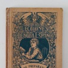 Libros de segunda mano: LECCIONES DE LENGUA ESPAÑOLA. GRADO PREPARATORIO. G M BRUÑO. 1944. Lote 199802931