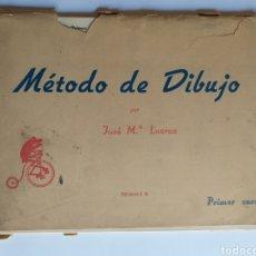 Libros de segunda mano: MÉTODO DE DIBUJO . JOSÉ LACRUZ . PRIMER CURSO BACHILLERATO EDICIONES S M .. TÉCNICAS DE PINTURA. Lote 199930022