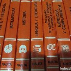 Libros de segunda mano: ENCICLOPEDIA, EGB-BUP.-COU.-FORMACION PROFESIONAL 10 TOMOS COMPLETA. AREAS CONSULTOR DIDACTICO. Lote 199985092