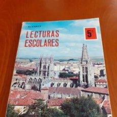 Livres d'occasion: LIBRO LECTURAS ESCOLARES ALVAREZ. Lote 200027703