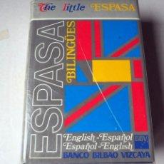Libros de segunda mano: ESPASA. BILINGUES. ESPAÑOL- ENGLISH.AÑO 1990. Lote 200076362