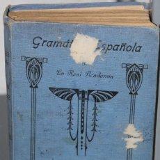 Libros de segunda mano: GRAMATICA DE LA LENGUA ESPAÑOLA. Lote 200400592