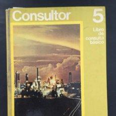 Libri di seconda mano: CONSULTOR 5 LIBRO DE CONSULTA BASICO EGB, SANTILLANA. Lote 233204780
