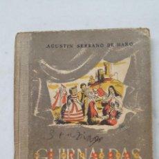 Libros de segunda mano: GUIRNALDAS DE LA HISTORIA. AGUSTÍN SERRANO DE HARO. EDITORIAL ESCUELA ESPAÑOLA. TDK458. Lote 201524498