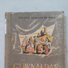 Libros de segunda mano: GUIRNALDAS DE LA HISTORIA. AGUSTÍN SERRANO DE HARO. EDITORIAL ESCUELA ESPAÑOLA. TDK458. Lote 201524671