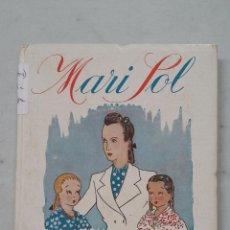 Libros de segunda mano: MARI SOL. MAESTRA RURAL. JOSEFINA ÁLVAREZ DE CÁNOVAS. MAGISTERIO ESPAÑOL. 1944. TDK458. Lote 201524890