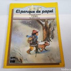 Libros de segunda mano: POEMAS - EL PARQUE DE PAPEL - PILAR MOLINA - TDK50. Lote 201933707