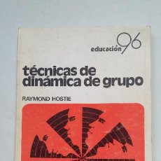Libros de segunda mano: TÉCNICAS DE DINÁMICA DE GRUPO. RAYMOND HOSTIE. PUBLICACIONES ICCE. TDK355. Lote 202584748