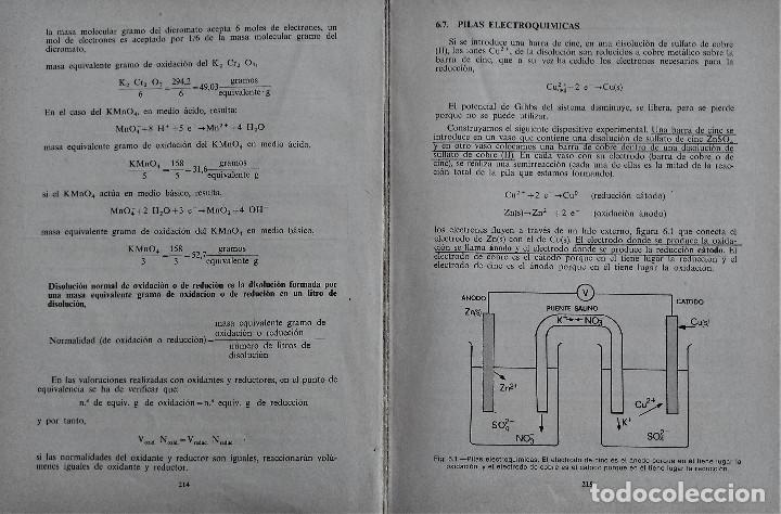 Libros de segunda mano: QUIMICA - C.O.U. - ECIR - MIRALLES CONESA / NAGORE GÓMEZ /PASCUAL GONZÁLEZ - Foto 6 - 194227905