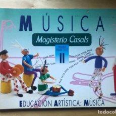Libros de segunda mano: LIBRO MÚSICA - MAGISTERIO CASALS PRIMARIA PRIMER CICLO II - AÑO 1992. Lote 202909037