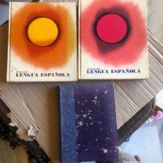 Libros de segunda mano: LOTE DE 3 LIBROS DE LENGUA ESPAÑOLA, AÑOS 60. Lote 203509715