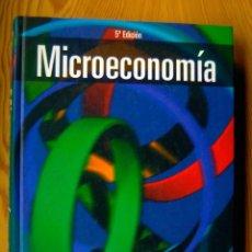 Libros de segunda mano: MICROECONOMÍA ROBERT S. PINDYCK / DANIEL L. RUBINFELD - 5ª EDICIÓN - TAPA DURA. Lote 204256857