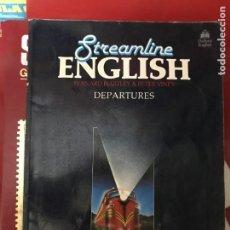 Libros de segunda mano: STREAMLINE ENGLISH - BERNARD HARTLEY & PETER VINEY - DEPARTURES - OXFORD UNIVERSITY PRESS.. Lote 205118767
