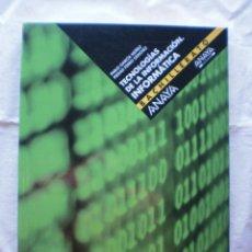 Libros de segunda mano: TECNOLOGIAS DE LA INFORMACION. INFORMATICA. BACHILLERATO. Lote 205476657