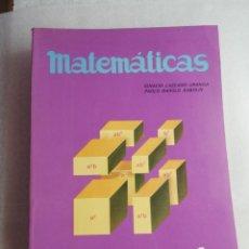 Libros de segunda mano: MATEMATICAS EDELVIVES 1 BUP. Lote 205755128