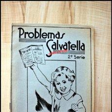 Libros de segunda mano: 2 CARTILLAS PARA NIÑOS CON PROBLEMAS SALVATELLA CUADERNO 5 Y 10 AÑO 1959. Lote 207073873