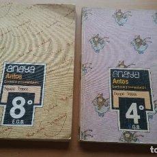 Libros de segunda mano: LIBROS ANAYA ANTOS. Lote 207111377