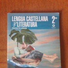 Livres d'occasion: LIBRO DE LENGUA CASTELLANA Y LITERATURA. PROYECTO ARGOS. 2 BACHILLERATO.. Lote 207237677