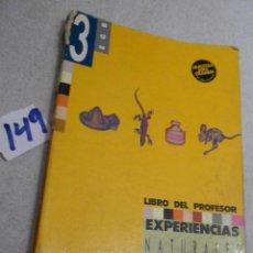 Libros de segunda mano: ANTIGUO LIBRO DE TEXTO - NATURALES Y SOCIALES 3º EGB. Lote 207238582