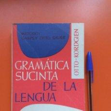 Libros de segunda mano: GRAMÁTICA SUCINTA DE LA LENGUA FRANCESA, 1990, EDITORIAL HERDER. Lote 207305820