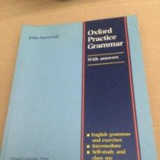 Libros de segunda mano: OXFORD PRACTICE GRAMMAR INTERMEDIATE WITH ANSWERS. NUEVO. Lote 207826081