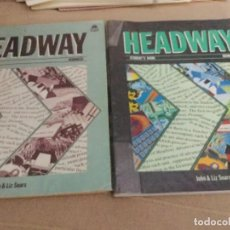 Libros de segunda mano: HEADWAY STUDENT'S BOOK - ADVANCED - JOHN & LIZ SOARS HEADWAY STUDENT'S BOOK AND WORKBOOK. Lote 207836271