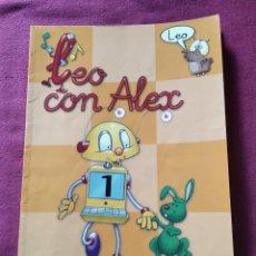 Libros de segunda mano: LIBRO TEXTO LEO CON ALEX 1 EVEREST AÑO 2004. Lote 208070932