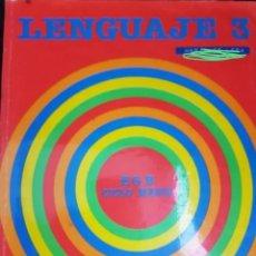 Libros de segunda mano: LIBRO DE TEXTO LENGUAJE 3°EGB. Lote 208385795