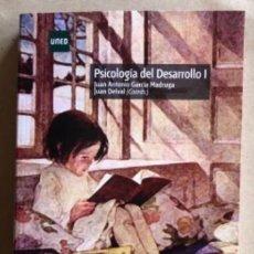 Libros de segunda mano: PSICOLOGÍA DEL DESARROLLO I. JUAN ANTONIO GARCÍA MADRUGA Y JUAN DELVAL. UNED 2018.. Lote 208429818