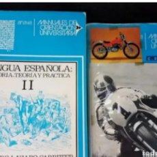 Libros de segunda mano: MANUALES DE ORIENTACIÓN UNIVERSITARIA .LENGUA ESPAÑOLA. Lote 208727538