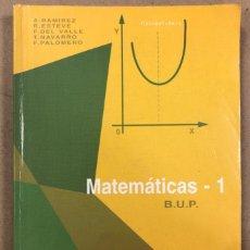 Libros de segunda mano: MATEMÁTICAS 1º BUP. VV.AA. ECIR EDITORIAL 1995.. Lote 208895500