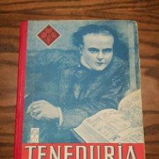 Libros de segunda mano: ANTIGUO LIBRO ESCOLAR TENEDURIA PRIMER GRADO, AÑO 1953, 88 PÁGINAS, CONTABILIDAD. Lote 209019630
