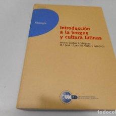Libros de segunda mano: INTRODUCCIÓN A LA LENGUA Y CULTURA LATINAS Q1428A. Lote 209572371