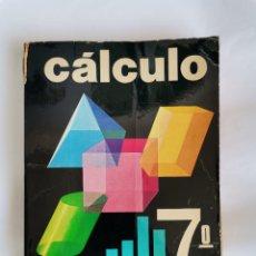 Libros de segunda mano: CÁLCULO SM 7 EGB. Lote 209601583