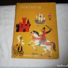 Libros de segunda mano: HISTORIA ROSA ORTEGA.EDITORIAL TEIDE.-BIBLIOTECA APTO 1965.-2ª EDICION. Lote 209863190