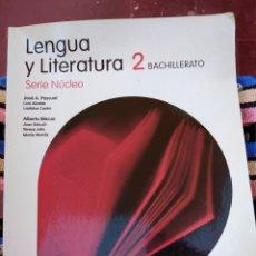 Livros em segunda mão: LENGUA Y LITERATURA 2° BACHILLERATO SERIE NÚCLEO SANTILLANA. Lote 210137892