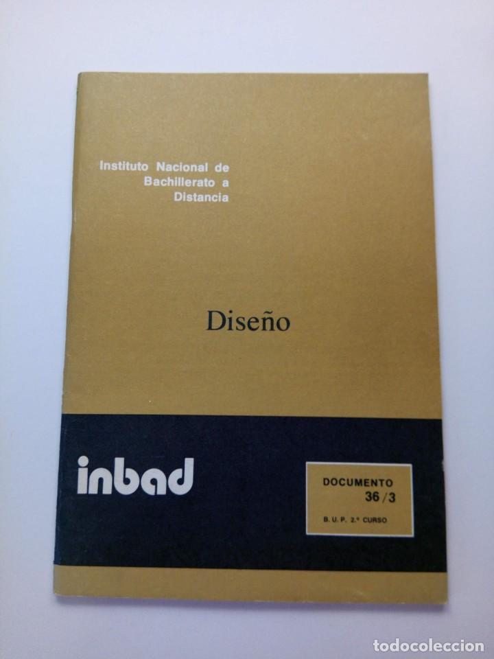 INBAD - DISEÑO - BUP 2º CURSO (Libros de Segunda Mano - Libros de Texto )