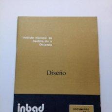 Libros de segunda mano: INBAD - DISEÑO - BUP 2º CURSO. Lote 210215770